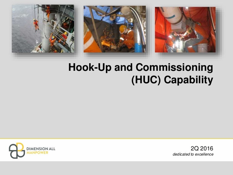 from Eli hookup and commissioning activities