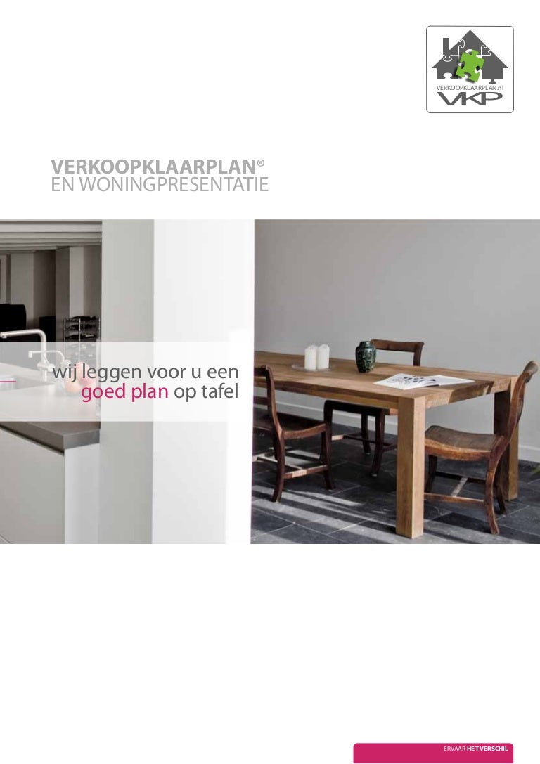 Huis make over verkoop klaar plan brochure for Huis verkoop site