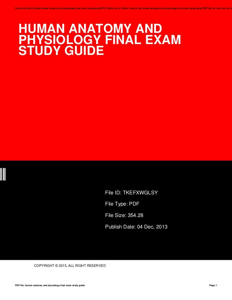 Modern Human Anatomy And Physiology Exam Component - Anatomy And ...