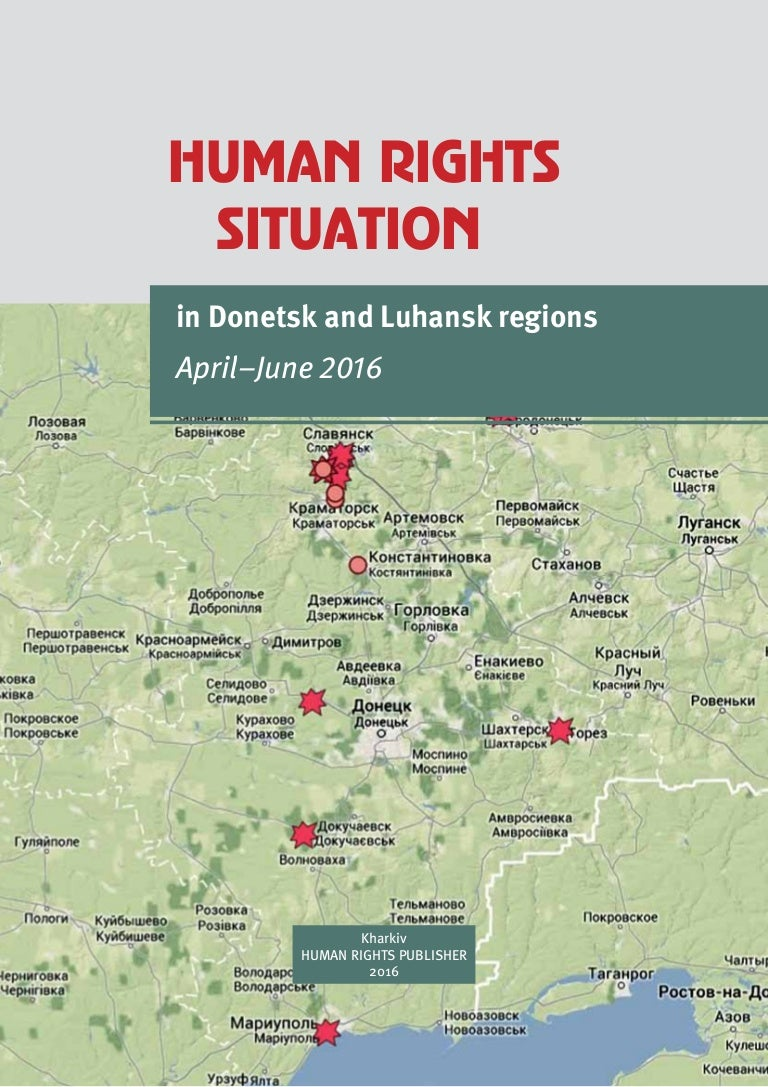 Delivery of water in the Luhansk region: a selection of sites
