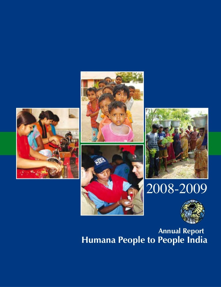 Humana People to People India Annual Report
