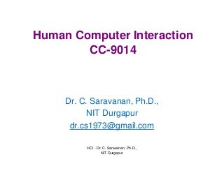 Human-Computer interface... topic suggestion?