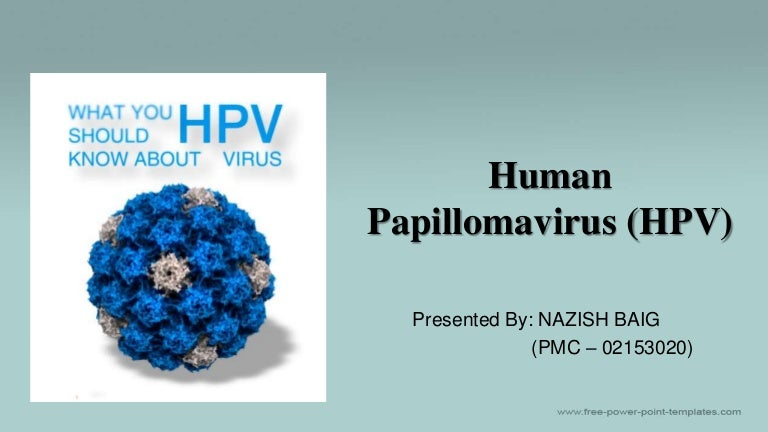 Papillomavirus humain ppt - Papillomavirus humain ppt
