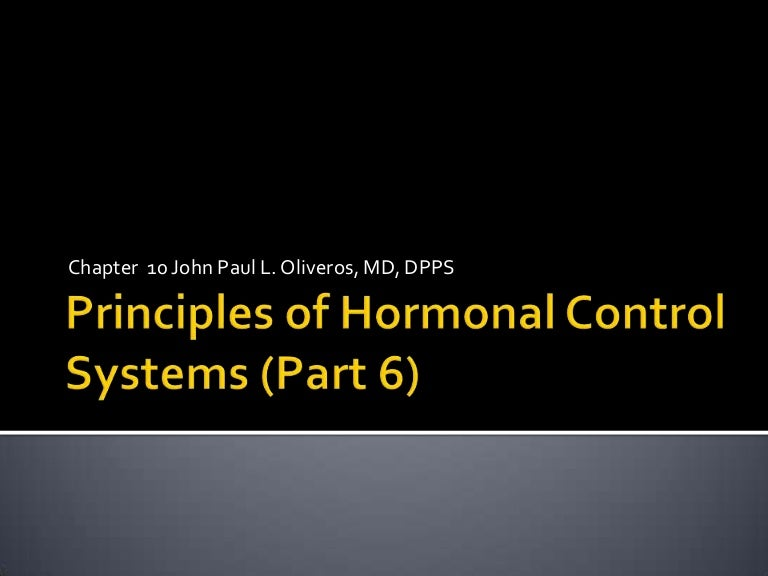 Human physiology part 6