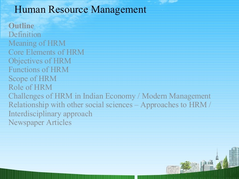 thesis on human resource management in india Human resource management is a concept that evolves from personal management to today's human resource management function which also incorporates the required technology in its working.