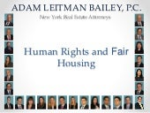 Adam Leitman Bailey Teaches Agents the Fair Housing and Americans with Disabilities Acts