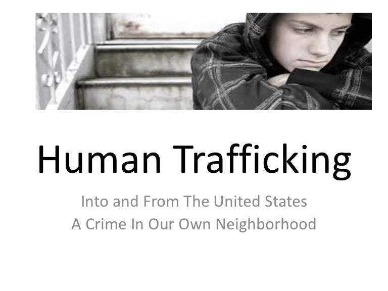 human trafficking in our own backyard We all know that human trafficking exists, but we tend to think it's over there, not here in the us how do you feel about trafficking being a problem in our own backyard i just saw this article about human trafficking in charlotte, nc and how it's becoming an increasingly large problem.