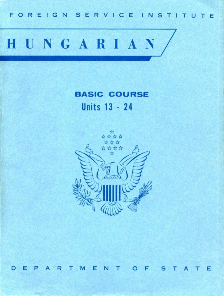 b7924e65368b Learn Hungarian - FSI Basic Course (Part 2)