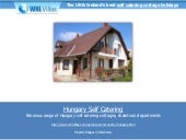 Hungary self catering
