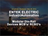 Miniature Circuit Breakers (MCBs) -  Entek Electric