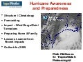 Impact Weather Presentation for Fort Bend County Preparedness Workshop