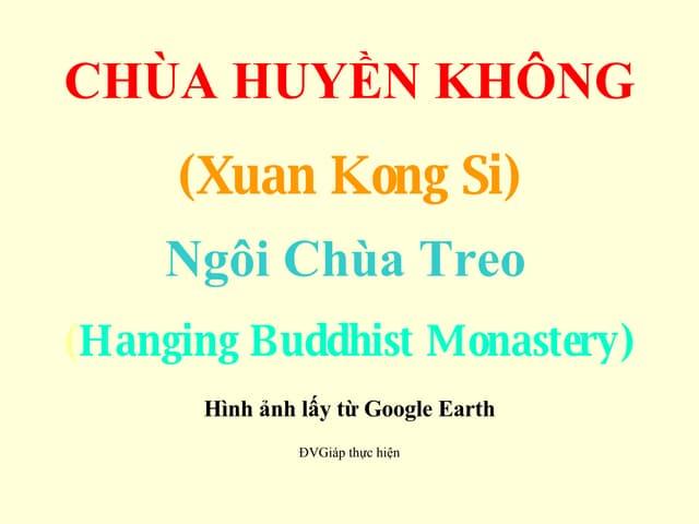 Huyen Khong Tu