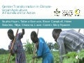 Gender Transformation in Climate-Smart Agriculture: A Framework for Action