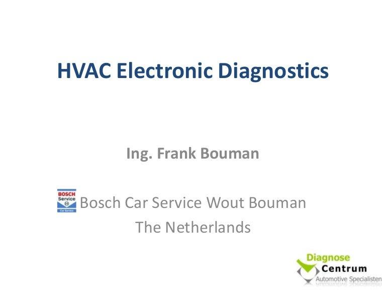 Hvac Electronic Diagnostics