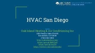 HVAC San Diego - (760) 546-9494