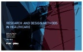 Research & Design Methods, Mad*Pow - HxD2013