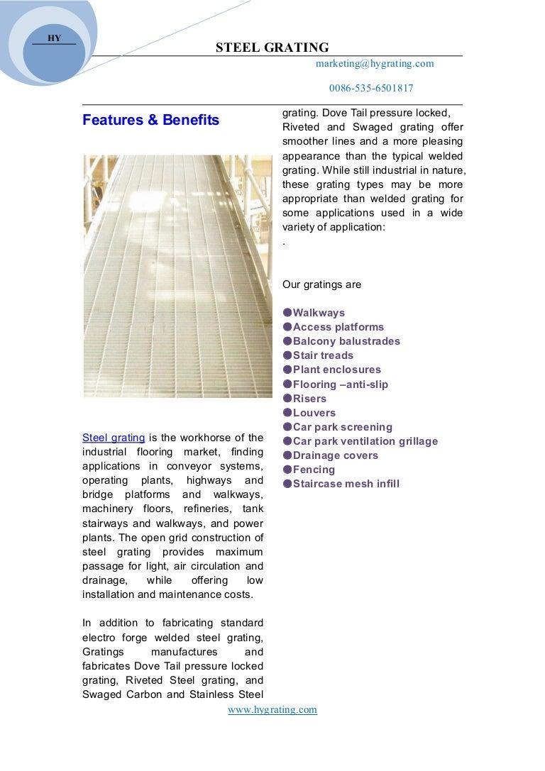 Floor Forge Fixing Clip Flow Forge Grating Walkway Open Mesh Flooring