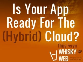 Hybrid cloud wiskyweb2012