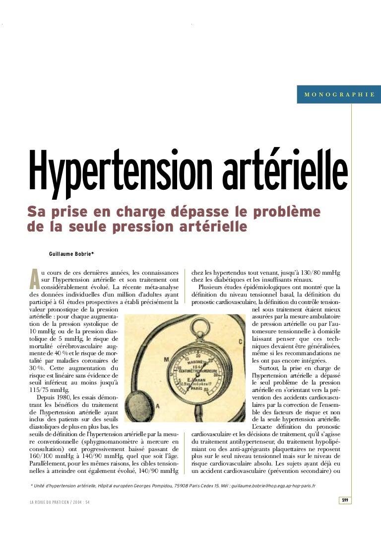 Hypertension artã©rielle essentielle