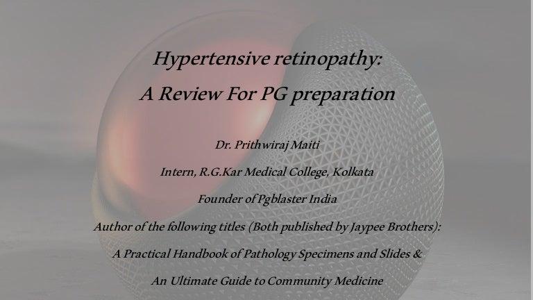 sc 1 st  SlideShare : hypertensive retinopathy silver wiring - yogabreezes.com
