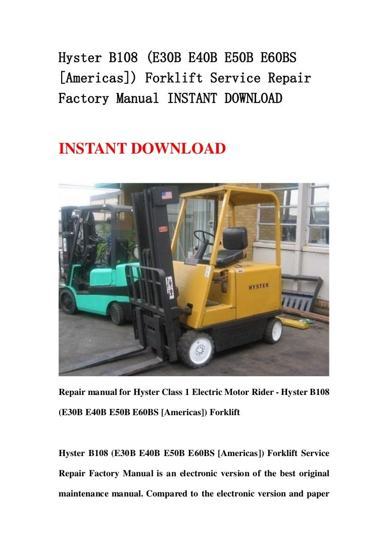 Hyster 30 Forklift Wiring Diagram Library 60
