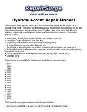 hyundai elantra workshop service repair manual 1996 2001 678 mb sea rh slideshare net