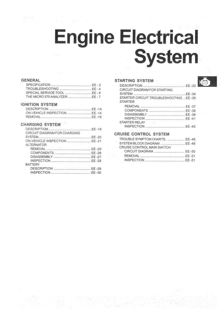 Hyundai Elantra: Electrical system