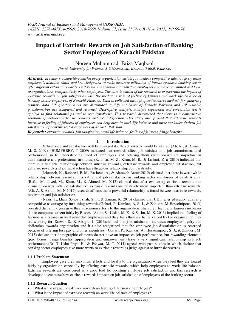 relationship between rewards and employee performance pdf