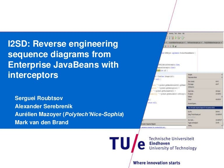 I2sd Reverse Engineering Sequence Diagrams From Enterprise