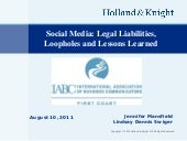 Social Media Privacy Laws and Legal Liabilities