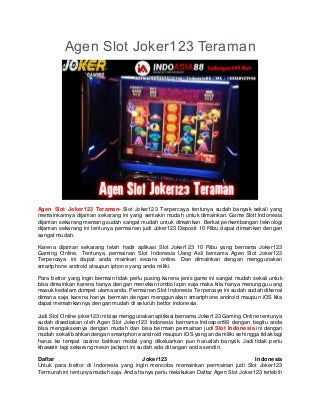slot game mesin kuda