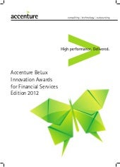 Accenture Financial Services Innovation Awards BeLux