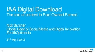 IAA Digital Download 2012 - Nick Burcher