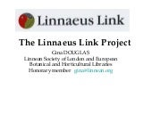 The Linnaeus Link Project
