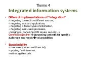 IAALD 2010 Closing Session Report: Integrated information systems