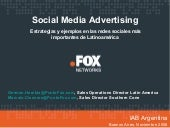 IAB Argentina FOX Social media Marketing