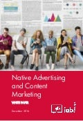 Native Advertising and Content Marketing - White Paper - IAB Europe - Decembre 2016