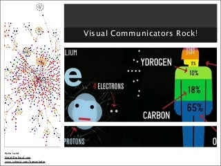 (Don't) Use Your Words: Visual Communicators Rock!