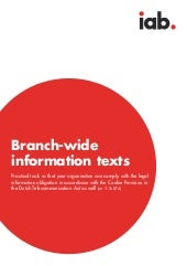 Iab information texts