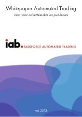 Whitepaper Automated Trading, intro voor adverteerders en publishers