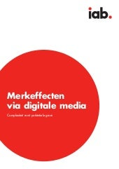 Iab whitepaper merkeffecten via digitale media