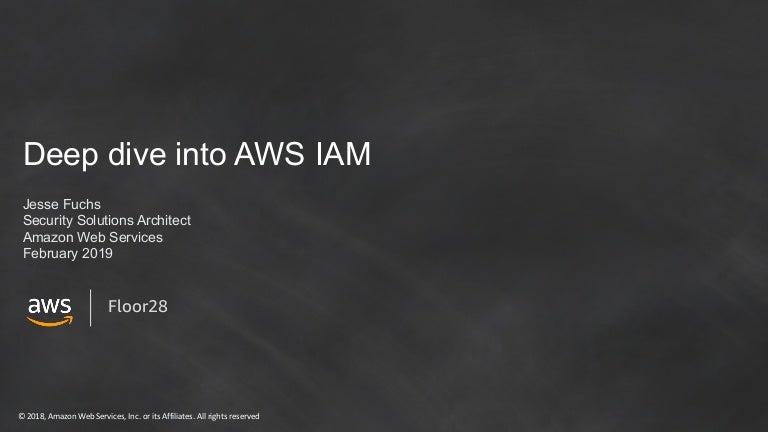 Deep dive into AWS IAM