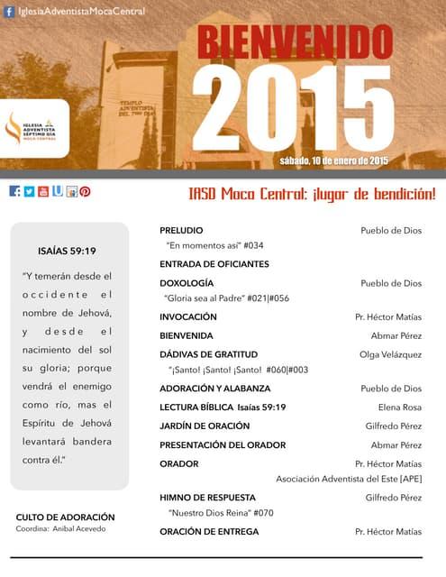 IAMC PROGRAMA 10.ENE.2015