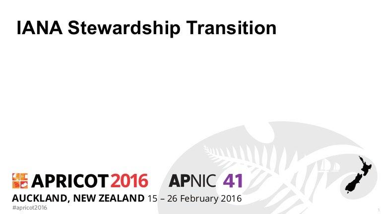 Introduction to IANA Stewardship Transition Session