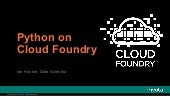 Python on Cloud Foundry
