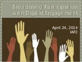 IAP2 NorCal: Broadening Participation with Digital Engagement