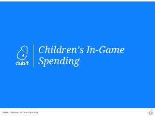 Kids and parents on in-game spending IAP