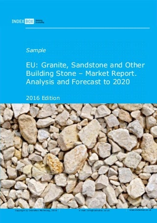 eu granite sandstone and other building stone market report analysis and forecast