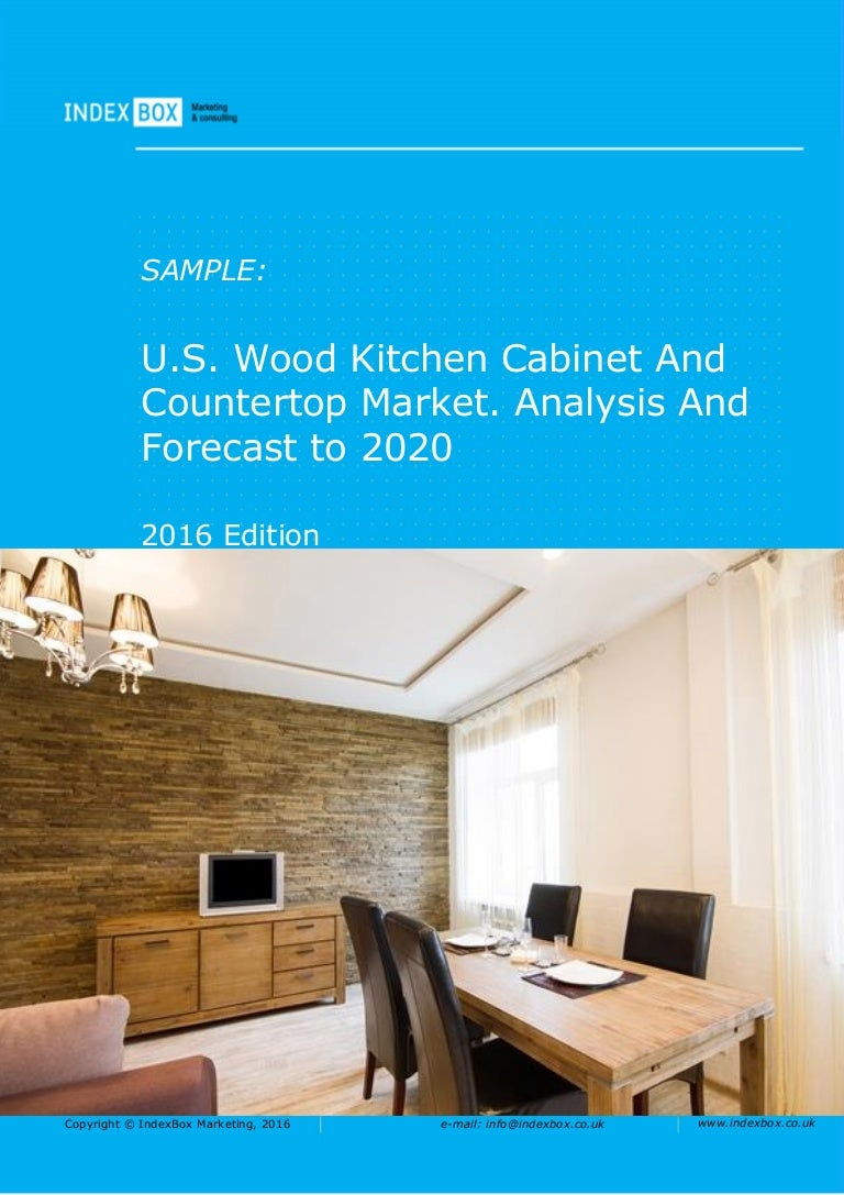 U.S. Wood Kitchen Cabinet And Countertop Market. Analysis And Forecas…