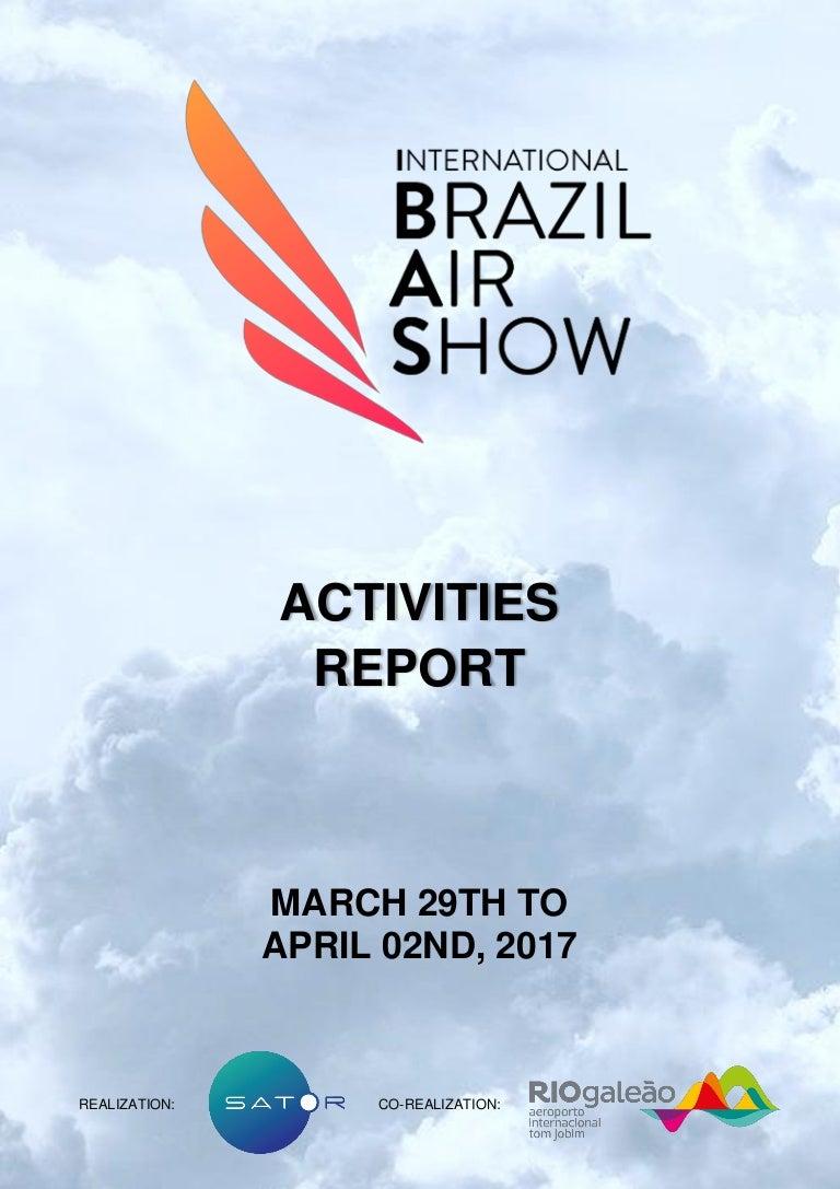 Closing Report International Brazil Air Show 2017